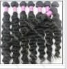 Indian virgin human hair ,natural color,can be dyed ,about 100g/pc 1