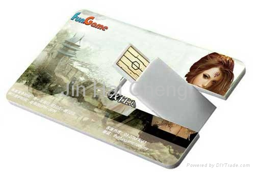 Credit Card USB Flash Drive  5