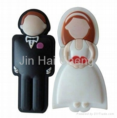 Lovely Cartoon USB Flash Drive