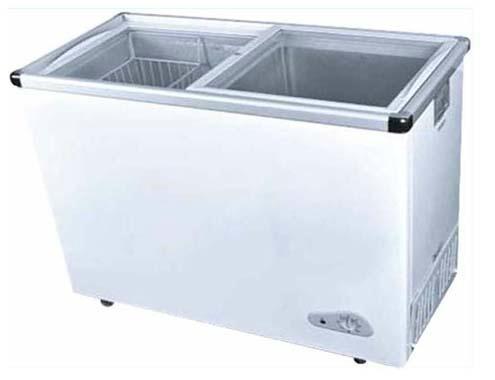 Glass Door Chest Freezer Sd 210q Arisa China Manufacturer