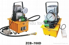 Pressure holding hydraulic electric pump ZCB-700D