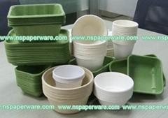 Biodegradable Bagasse Plant Disposable Cups 2oz,8oz,8.5oz,12oz)