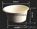 Biodegradable Bagasse Plant Disposable Cups 2oz,8oz,8.5oz,12oz) 4