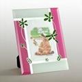 水晶珠玻璃相框(心语) 1