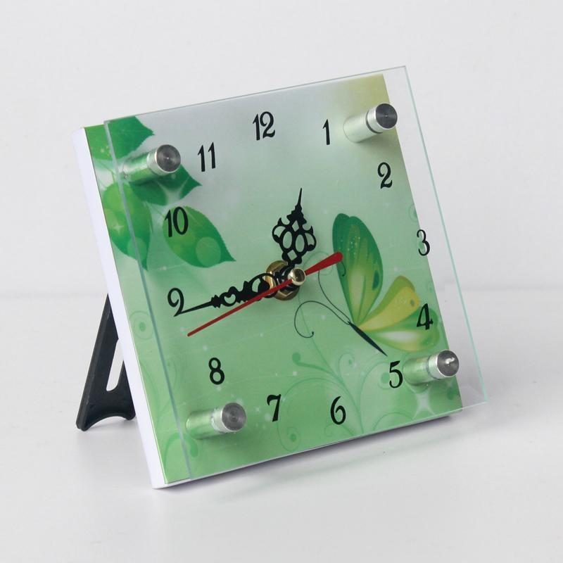 MDF时钟技法-JS1212-一鸣家饰(中国浙江玻璃坦培拉绘画水彩图片