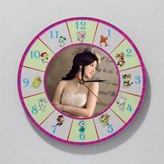 中國風12生肖相框時鐘