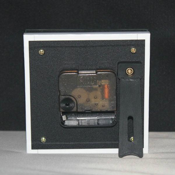 MDF无框画玻璃座钟 5