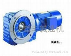 K斜齿轮螺旋锥齿轮减速机