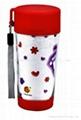 promtional mugs/plastic travel mug BPA