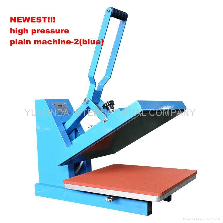 Blue Color Heat Press Machine With High Presure 2 For Diy