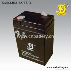 6v4ah sla storage battery