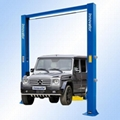 Electrical release automotive lifts with