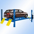 Four post car lift with CE certificate