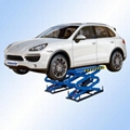 In ground double scissor lift with CE