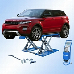 Mobile car lift for quick service with CE certificate