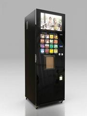 LCD display bean coffee vending machine