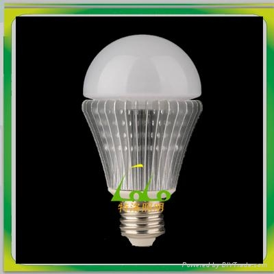 New design led light bulb 7w samsung chip cool white dim 360 beam angle shenzhen 1