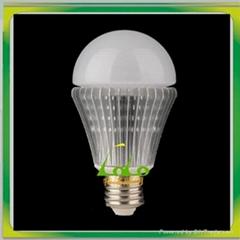 New design led light bulb 7w samsung chip cool white dim 360 beam angle shenzhen