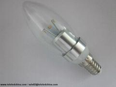LED light bulb 4w samsung chip warm white E14 high lumen decorative lighting