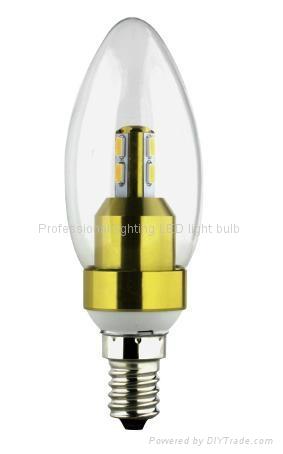 HOT bulbs smd5630 lmaps 3W LED Candle Light with E14 socket  1