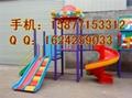 扶绥幼儿园滑梯厂家 4