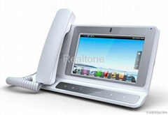 7 TFT-LCD IP Video phone Android 2.2 OS