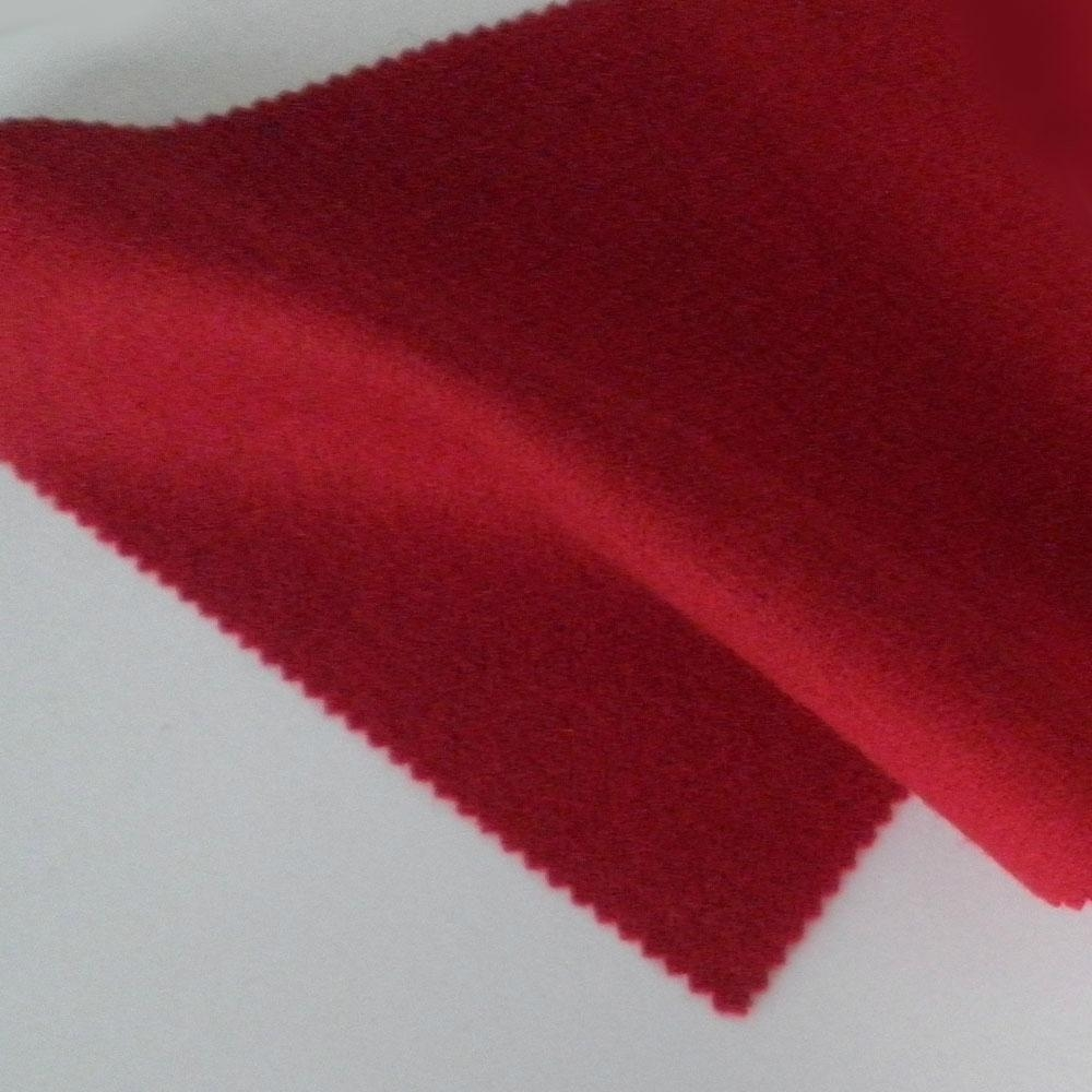 Woollen wool cashmere pure wool fabric red fabric 450g/m,RN258 1