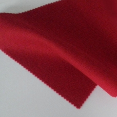 Woollen wool cashmere pure wool fabric red fabric 450g/m,RN258