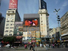 Energy Saving 1R1G1B PH20 Advertising Outdoor LED Screens