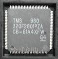 TMS320F2801PZA