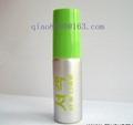 aerosol aluminum can with spray pump
