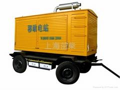 50KW移動電站式發電機