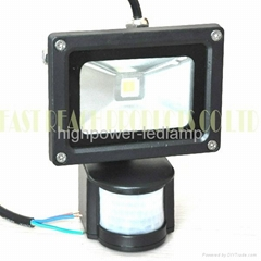 Waterproof IP65 10w 800 - 900Lm LED Induction Project - Lamp
