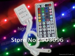 Wireless 44 - key DC 5V IR Remote Controllers For RGB LED Strip Light