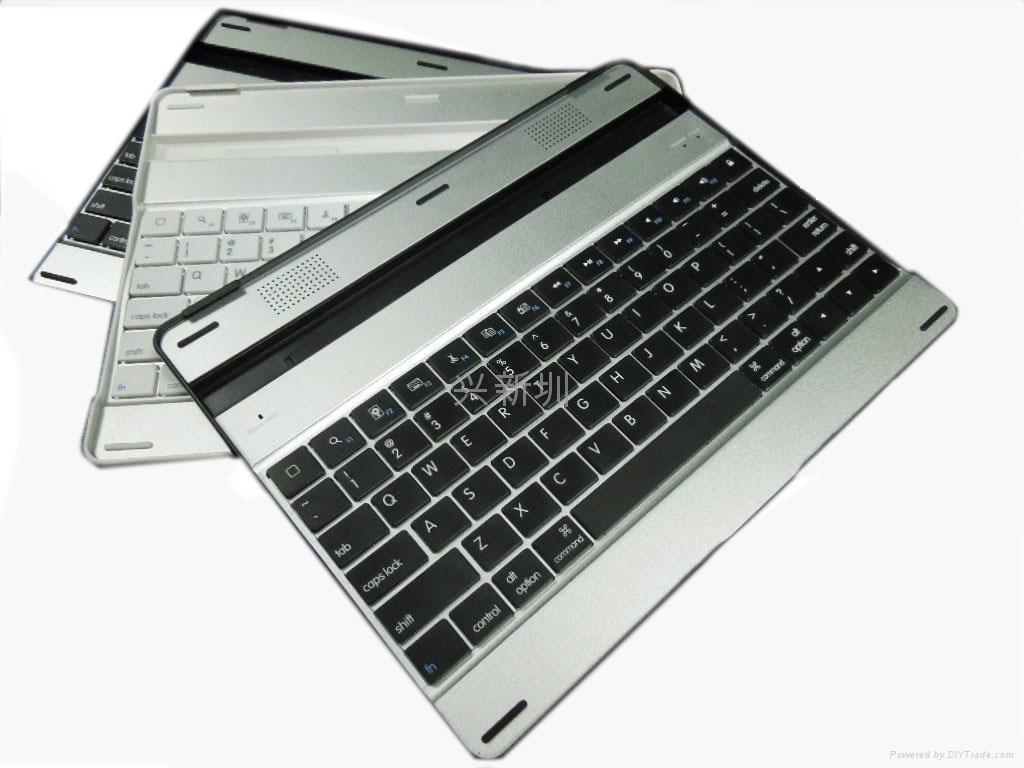 无线蓝牙铝合金外壳 for ipad  黑白款 2
