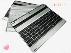 铝合金外壳黑白款蓝牙键盘