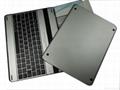 铝合金外壳黑白款蓝牙键盘 4