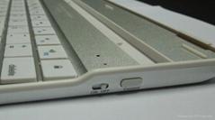 铝合金外壳450mA容量蓝牙键盘