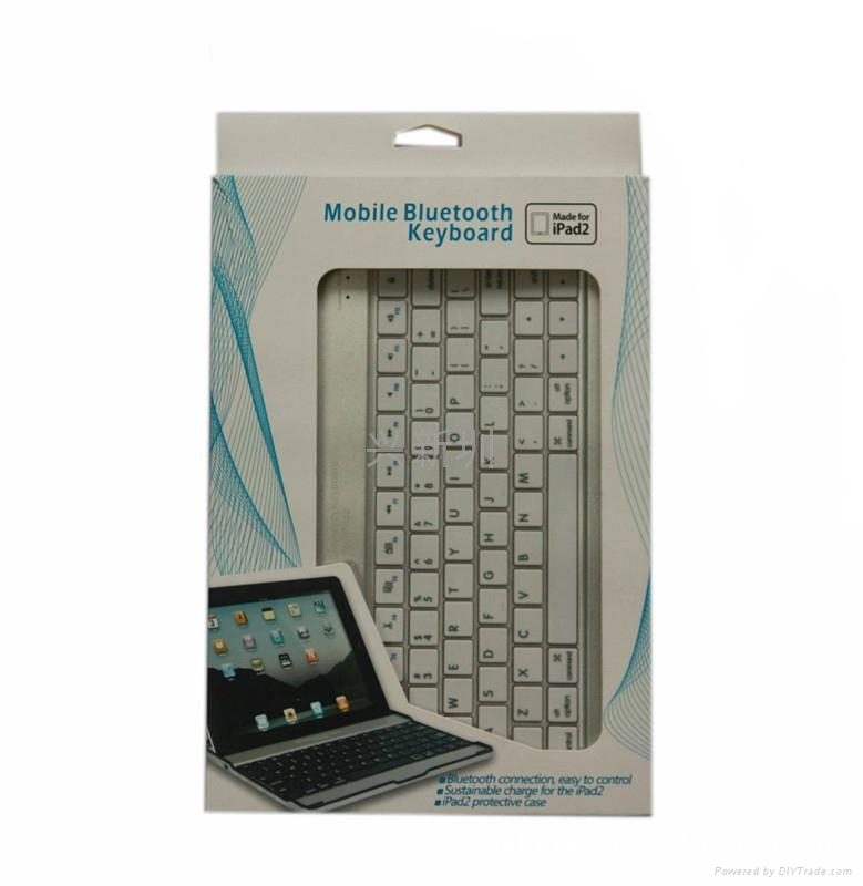 铝合金外壳450mA容量蓝牙键盘  4