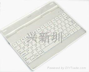 超薄防尘防水蓝牙键盘 1