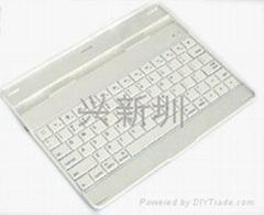 450mA容量 便携 蓝牙键盘