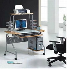 computer workstation with CD nets,printer board and so on