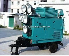 川崎发电照明拖车