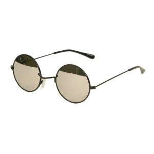 Round Framed Sunglasses  80 s john lennon style sunglasses gold round frame 1099