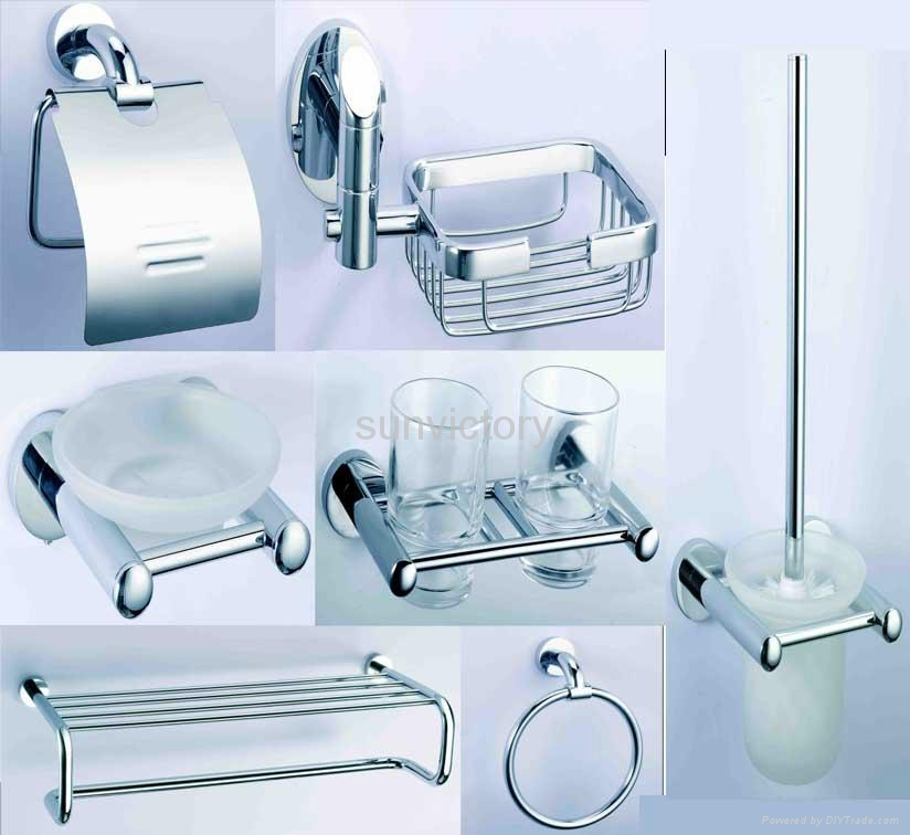Bathroom hardware fittings bathroom accessories china for Bathroom fittings