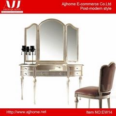fashionable wooden vanity dresser dressing table