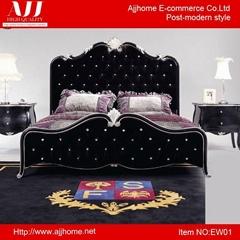 1.8m modern design elegant bedroom double bed