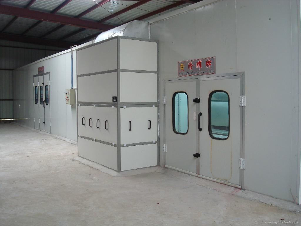 LY-120 Furniture spray booth  2