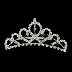 Fashion Sparkling Crystal Bridal Tiara Crown Hair Comb