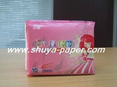 cotton sanitary napkin for ladies
